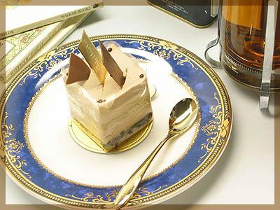 ケーキプレート ロワイヤルブルー